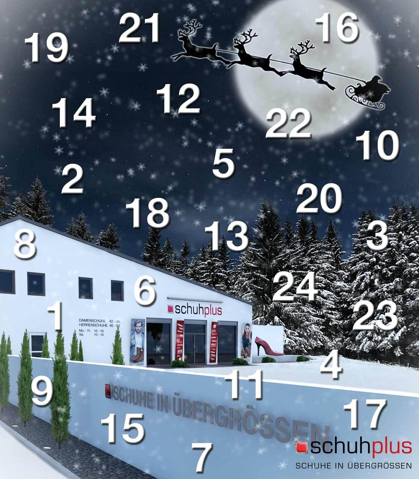 Weihnachten 2018 bei schuhplus   Gutscheine