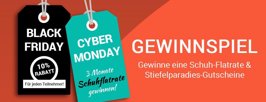 025194cf06392 Black Friday Cyber Monday Gewinnspiel